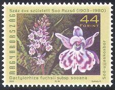 Briefmarken mit Blumen Thema aus Ungarn