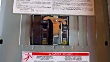 Square D QO 60-Amp  Generator Outdoor Manual Transfer Switch lockable