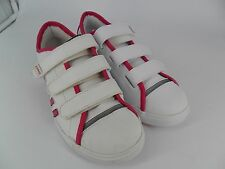 K-SWISS MOULTON STRAP WHITE / PINK TRAINERS UK 5.5 EU 39 LN11 50
