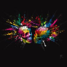 Murciano, Patrice Eternal Lovers Punk Schädel Kunstdruck Größe 30x30cm