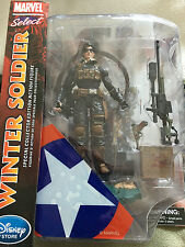 Marvel Select Disney Winter Soldier Collector Edition Action Figure