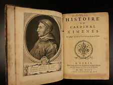 1693 Spanish Inquisition Cardinal Jimenez de Cisneros Spain Torture Heretics