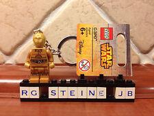 Lego® C3PO™ Star Wars™ Schlüsselanhänger Figur 853471 Vader™ BB-8™ R2D2™ NEU