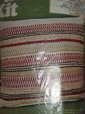 Vtg 1970s BUCILLA  Earth Tones Woven Pillow WEAVING KIT FOR SIMPLE LOOM New NIP