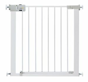 Safety 1st Simply Close Child Baby Dogs Pets Metal Gate - White