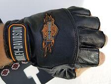 Harley Davidson Leather  Gloves Fingerless XXL