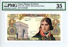 France ... P-144a ... 100 Nouveaux Francs ... 1962 ... *Ch VF-XF* ... PMG 35