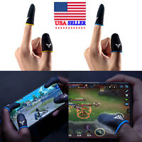 For PUBG Mobile Game Sweat-proof Finger Gloves Touch Screen Thumbs Cover Sleeve