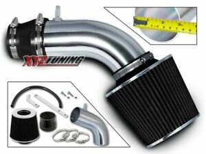 BLACK Short Ram Air Intake+Filter For 11-13 Accent/Veloster/Elantra 1.6L/1.8L L4