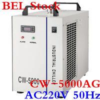 BEL! CW-5000AG Water Chiller for 80W / 100W CO2 Laser Tube, AC220V 50Hz