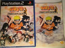 PS2 PS3 NARUTO ULTIMATE NINJA PLAYSTATION 2 NARUTO ULTIMATE NINJA PS2