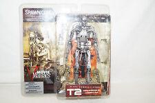 Mc Farlane Toys Movie Maniacs T2 Terminator T-800 Endoskeleton NEU OVP