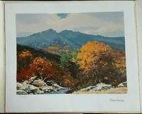 Serigraph Print Robert Wood Listed American Artist 3 Limited Ed Pencil Signed