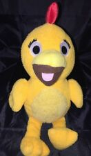 Chica Plush from The Sunny Side Up Show/Sprout - 13""