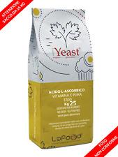 Acido L Ascorbico Puro-Vitamina C -25Kg - E300 - Alimentare -NO OGM- GLUTEN FREE