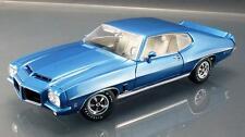 ACME 1972 Pontiac LeMans in Lucern Blue Diecast Car 1:18 A1801204 SERIAL# 013