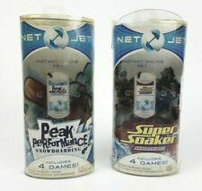Net Jet  Peak Perfromance Super Soaker  Hasbro  Lot of 2