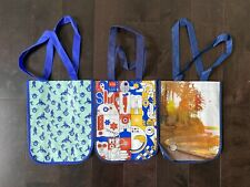 Lululemon Reusable Shopping Bags Lot of 3 SeaWheeze  3 Different Years