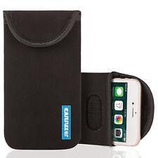Caseflex Apple iPhone 4 / 4S Case Best Neoprene Pouch Skin Cover Black