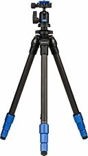 "BENRO- Slim 58"" Carbon Fiber Tripod - Blue/Black SAME DAY SHIPPING"
