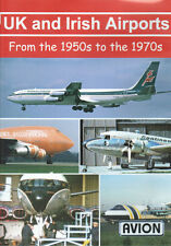 UK and Irish Airports 1950s to 1970s 707 DC-4 DC-6 DVD