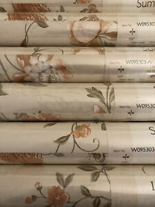Summer Palace Terracotta wallpaper Rare 12 Rolls Available price per roll