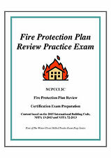 2015 NCPCCI 3C Fire Protection Plan Review Practice Exam on USB Flash Drive
