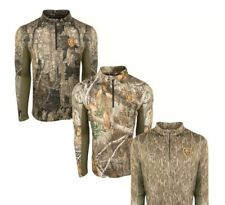 NEW!! Men's DRAKE NON TYPICAL PERFORMANCE 1/4 ZIP L/S SHIRT WITH AGION ACTIVE!!