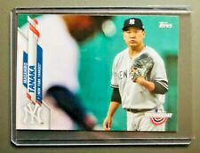 Masahiro Tanaka #177 Topps 2020 New York Yankees MLB Card Free Shipping
