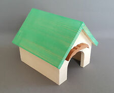 Hamster Wooden House Small Rodents Pet Animal Mice Mouse Gerbil Bed Cages