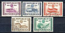 REPUBLIK ÖSTERREICH / OOSTENRIJK 1955 - 10 JAAR ONAFHANKELIJKHEID GEBRUIKT Hk90b