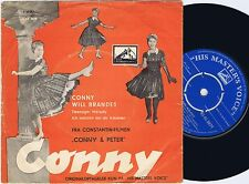 CONNY FROBOESS & WILL BRANDES Teenager Melody Danish 45PS 1958