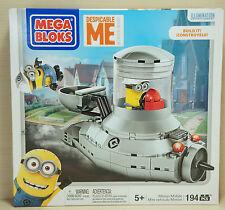 Mega Bloks Despicable ME Minion Movie Minion Mobile 194 Pcs