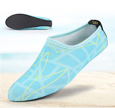 NEW Barefoot Water Skin Shoes Aqua Socks Beach Swim Slip On Surf Yoga Exercise