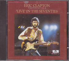 ERIC CLAPTON - timepieces volume II live in the seventies CD