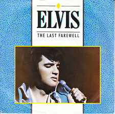 "ELVIS PRESLEY The Last Farewell PICTURE SLEEVE 7"" 45 rpm record RCA UK Pressing"