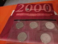 2000  ..5- -Coin Set - Brilliant Uncirculated Denver