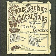 NEW Famous Ragtime Guitar Solos (Audio CD)
