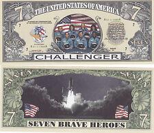 Shuttle Challenger Space Novelty Money Bill # 080
