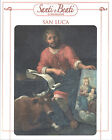 STAMPA SU CARTONCINO IMMAGINE SACRA - SAN LUCA EVANGELISTA - CM. 19x24