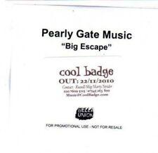 (BS679) Pearly Gate Music, Big Escape - DJ CD