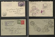 Canada   2   registered  covers   nice markings                MS0228