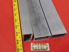 3 Pieces 1x 2x 18 Wall Aluminum Rectangle Tube 6063 T52 X 55 Long 10x 20