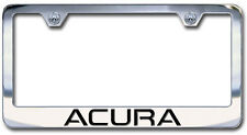 NEW Acura Chrome License Plate Frame Engraved Block Letters
