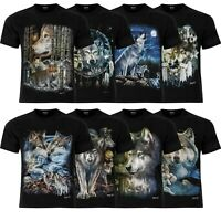 Wolf Wolves Howling Wolf Official UK Stockist Wild T-Shirt