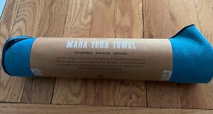 "Prana Maha Yoga/Pilates Towel, 75"" x 26"", River Rock Blue"