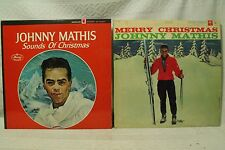 lot Merry Christmas lps records Johnny Mathis Sounds of Christmas with Mahalia