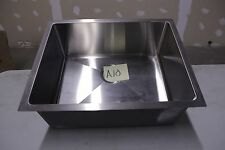 2318 Stainless 16 gauge Small radius undermount professional kitchen sink #A-10