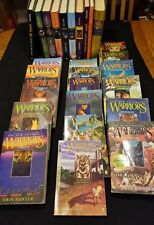 27 WARRIORS by Erin Hunter HC PB Book Lot POWER OF 3,  PROPHECY, SUPER ED+, Mang