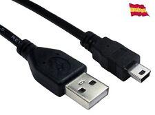 Cable cargador Mini usb B 5pin macho a Usb A macho para mando ps3 55